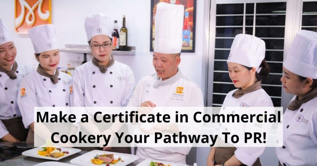 certificate in commercial cookery